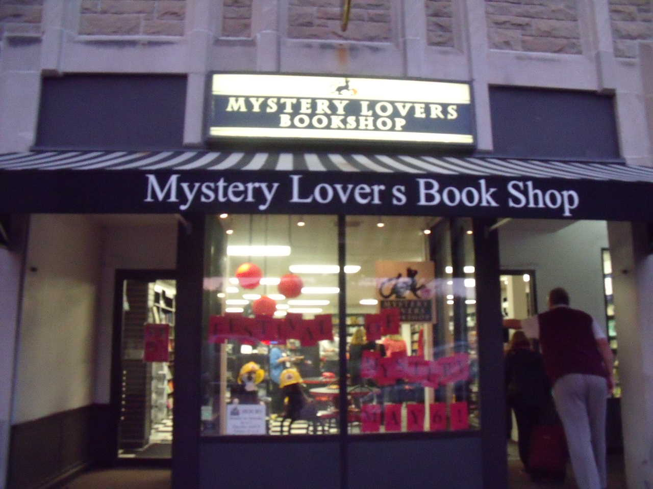 Mystery Lovers Book Shop